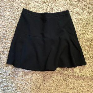 LOFT flare mini skirt